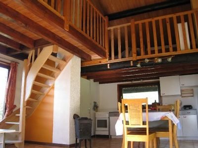 Photo for One single room chalet with large mezzanine