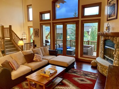 Photo for Clean and comfortable townhome in the heart of Steamboat recreation!