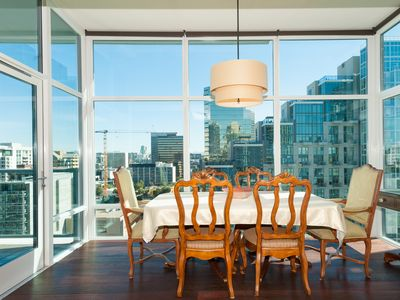 Photo for Luxury furnished 2B/2BA, stunning views, premier Little Italy boutique high rise