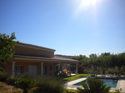 Photo for Villa with swimming pool in peace without opposite in private domain in Mougins