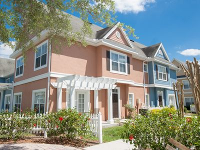 Photo for Beautiful Townhome 15 Min. From Disney! Pool, Free Wifi, Tennis Courts, Jacuzzi
