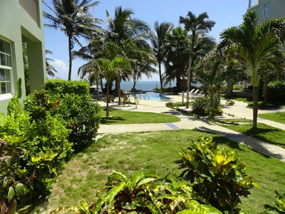 Walk out your front door to the pool and beach.