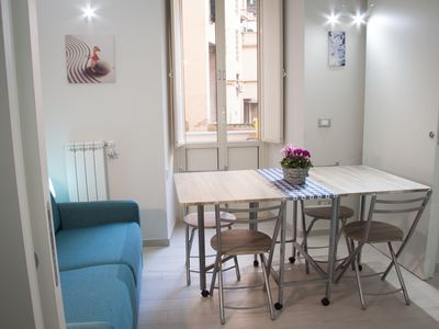 Photo for Charming studio apartment suitable for a couple, a family or two colleagues