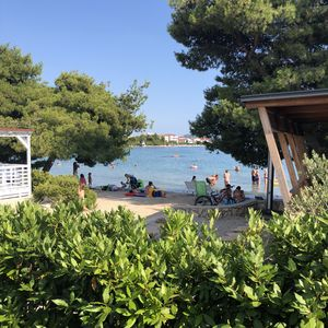 Photo for Mobile home Croatia with sea view, beach location