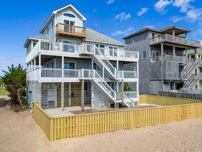 Photo for Summer Dream - Well-loved 5 Bedroom Oceanfront Home in Salvo