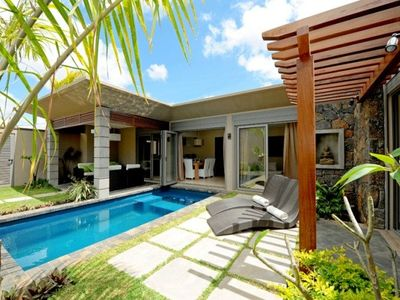 Photo for Private villa with pool in Grand Baie