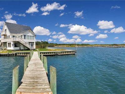 Photo for Prime Waterfront Location * Pool * Boat Dock * Golf