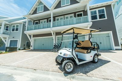 Golf Cart and Bikes Available!