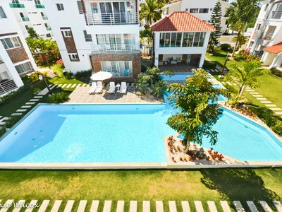 Photo for Lovely Corte Sea Penthouse Oasis, 2BR, 2BA w/rooftop terrace