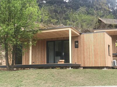 Photo for Wood Cube with shower and toilet - FuGo Camp & Fun GmbH