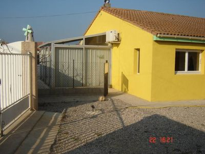 Photo for Nice villa with swimming pool, ground floor can accommodate 7 people