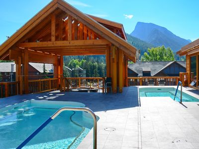 Photo for NEW Bright + Spacious Rockies Getaway   Great Location, Hot Pools!