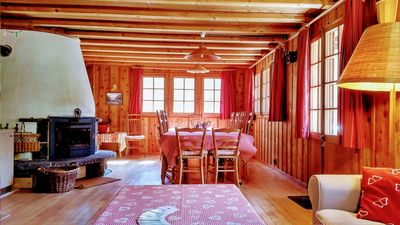 Photo for Authentic Chalet near Verbier