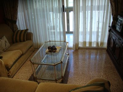Photo for IDEAL AND CENTRAL APARTMENT IN ALICANTE. QUALITY COMFORT AND WELFARE INSURED. WIFI