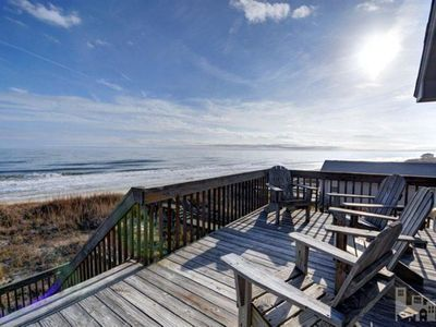 Photo for Enjoy Stunning Panoramic Oceanfront Views with Direct Beach Access - 4BR