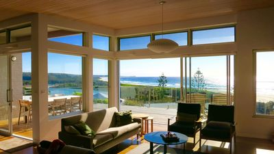 Photo for Architect Designed Beach House & the Best Views in Dalmeny !!