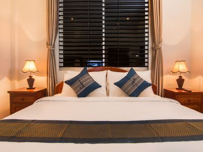Photo for Angkor Sunshine is a fist floor private villa with 3 rooms, large sitting area.