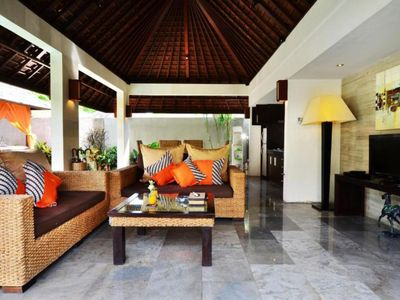 Photo for Spacious villa | private pool | large living room