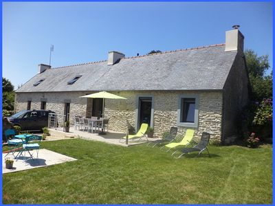 Photo for authentic Breton cottage in the countryside, close to services and the sea.