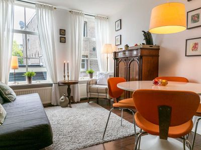 Photo for Lovely 1st Floor Apartment in Historic Canal House, Jordaan, Center, Amsterdam