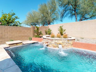 Photo for Great location in Peoria! Home in gated community w/ private pool - near sports!