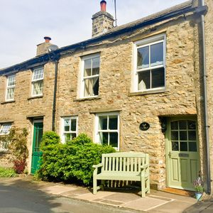 Photo for Charming 18th Century Cottage, centre of Askrigg. Original features, sleeps 4