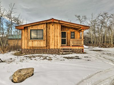 Photo for NEW! Babb Cabin 5 Minutes to Glacier National Park