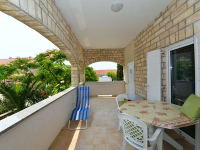 Photo for RITA - 3 bedroom app with air con & WIFI close to the sea, Novalja