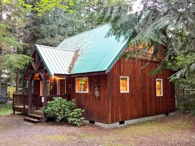 Photo for Mt. Baker Rim Cabin #32 - A Cute, Private, 2-story Family Cabin!