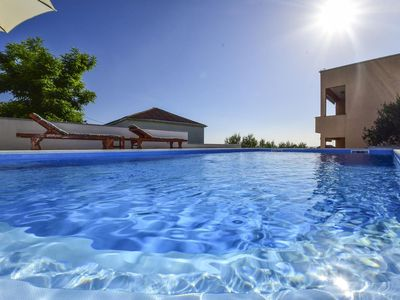 Photo for Two bedroom apartment with balcony and sea view Rtina - Stošići (Zadar)