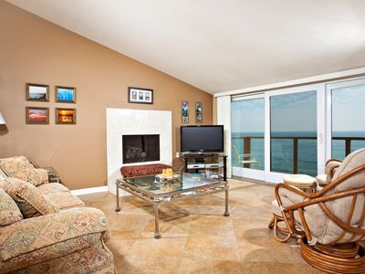 Photo for Amazing Views! Top Floor Oceanfront Condo 2BR Seascape Sur #73