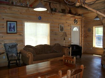 Photo for Copper Cabin - Amish Crafted Log Cabin