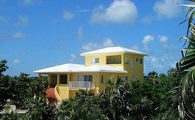 Photo for Steps to the Beach, Spacious Pink Sand Beach House