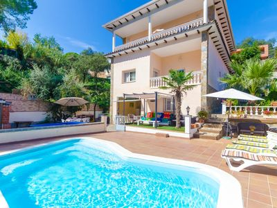 Photo for Club Villamar - A 12-person villa for the whole family with multiple terraces, a private pool and...