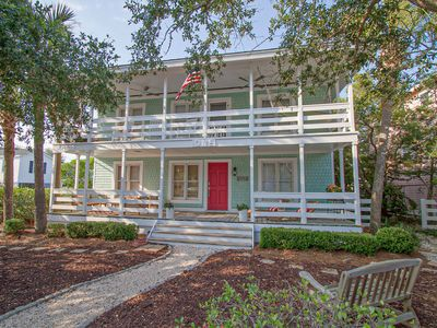 Photo for Location, Location, Location! Walking distance to beach,shopping and dining!