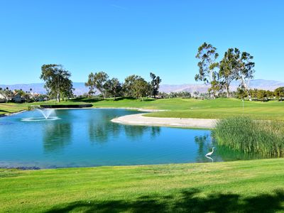 Photo for Lake Front On The Golf Course !!! No taxes for stay of 27 nights or longer.