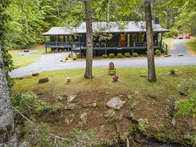 Photo for Beautiful Creek Front Cottage, Minutes from Blue Ridge and Ellijay Wineries!