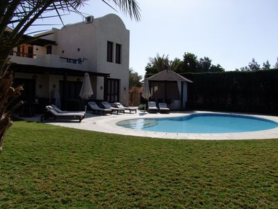 Photo for Extremely private villa with own pool (heating optional) - sleeps up to 9