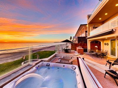 Photo for Spectacular Oceanfront Home - Private Jacuzzi on Deck, Luxury Amenities!
