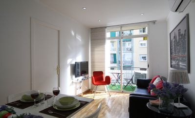 Photo for Very nice apartment in central Barcelona
