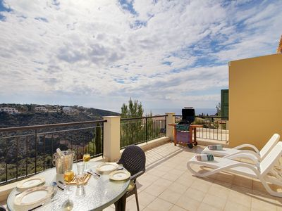 Photo for Super 1 bed apartment with lovely sea views in Adonis Village, Aphrodite Hills!