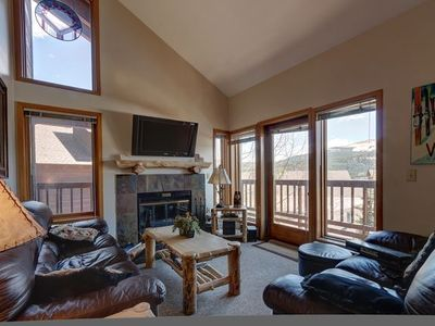 Photo for #1355 Ski In / Ski Out Tyra 4 Bedroom Condo - Ski-in To Back Door, Across Street from Snowflake Lift