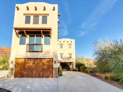 Photo for Spanish-style condo w/ views, in-home theater, & shared pool & hot tub