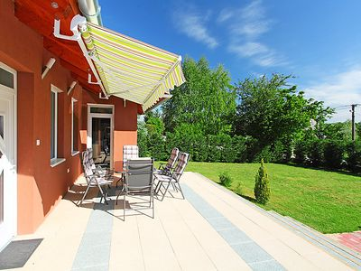 Photo for Vacation home Balaton H2064 in Balatonboglar/Szemes - 6 persons, 3 bedrooms