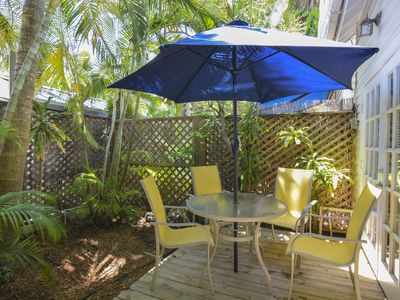 Photo for Hidden Oasis-  Private Cottage 2 Blocks from Duval Street- Shared pool