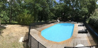 Photo for Villa 9 pers with private pool secured