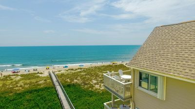 Oceanfront, top-floor, corner unit