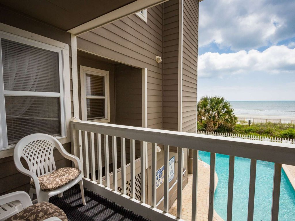 Oceanfront 1st Floor 2 Bedroom Free Water Park Aquarium Golf More Every Day Ccii101