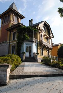 Photo for Beautiful Liberty Villa with pool by the Lake Maggiore