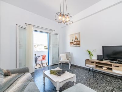 Photo for Bon's House / Entire Apartment In Tinos Port